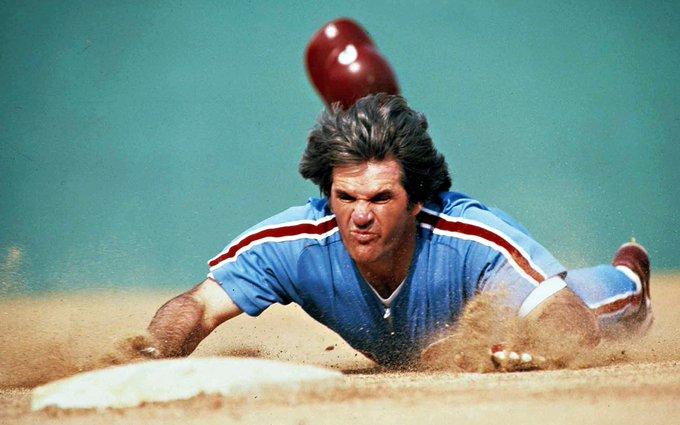 Happy birthday Pete Rose. He\s in my Hall of Fame.