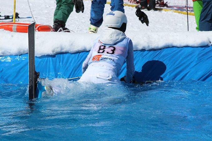 Nuestra forera Aeon representa el valor y la determinación del forero nevasportiano. Tremenda performance en nuestra #kedada de @SkiPallars