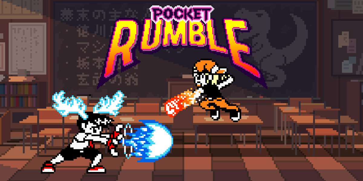 Image result for pocket rumble