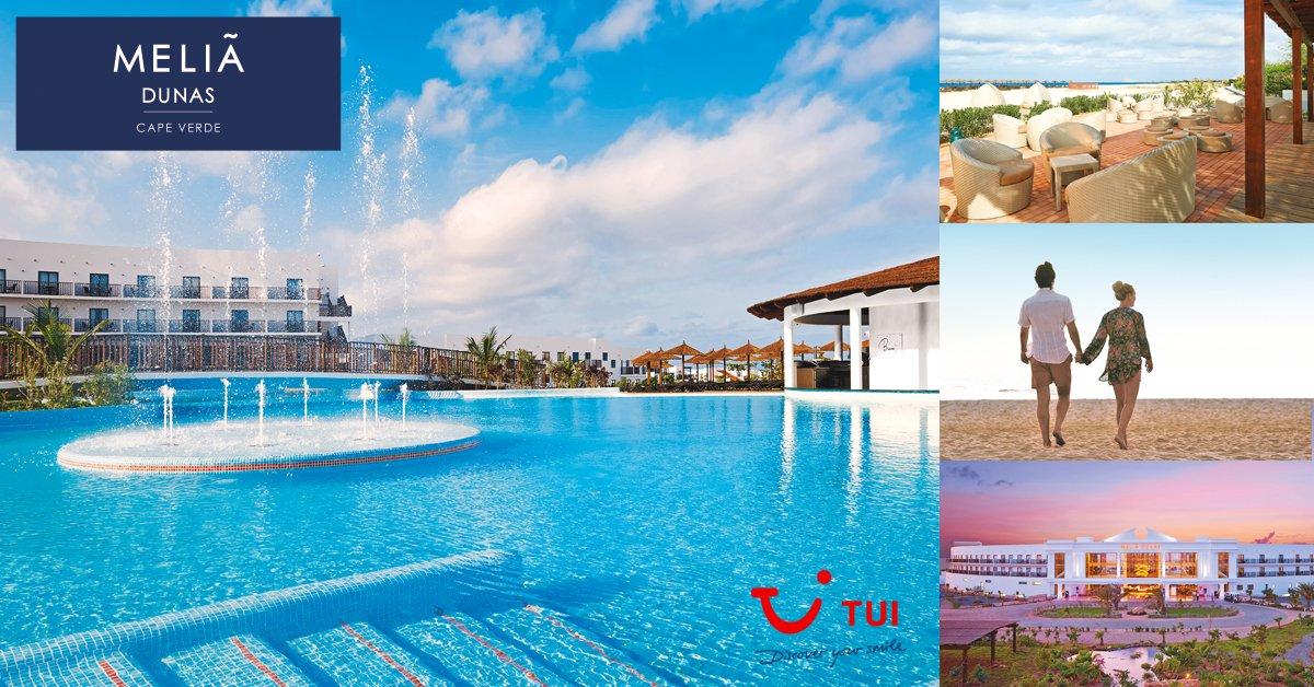 Geniet van één en al luxe in Melia Dunas Beach onder de Kaapverdische zon!  http://bit.ly/2o59WsI