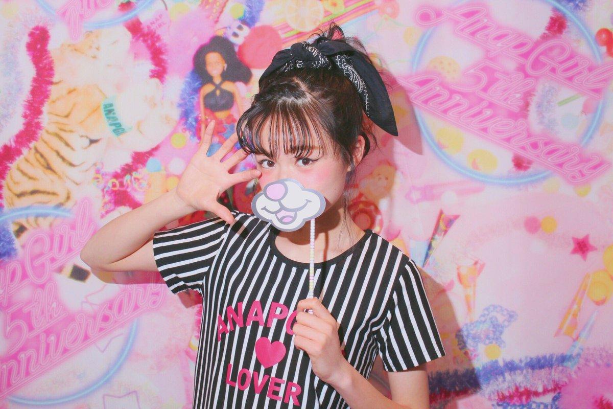 """莉子 ?? ? on twitter: """"anapgirl原宿店に可愛い写真スポットができ"""