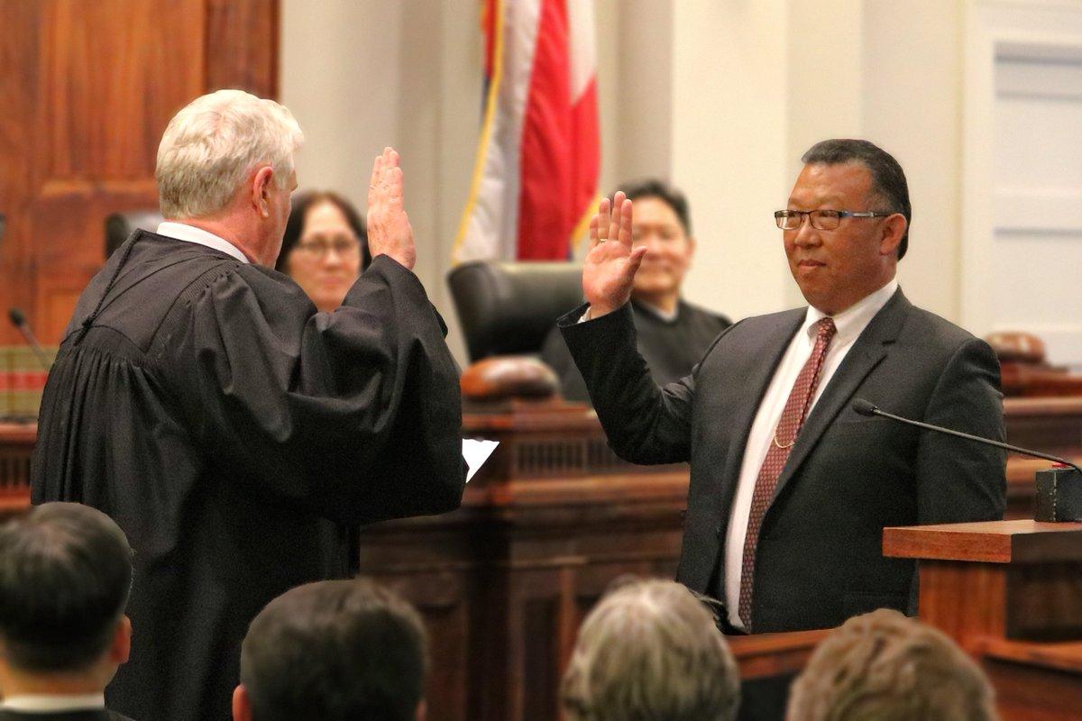 hawaii judiciary hawaiicourts twitter ts 2017 04 the honorable derrick chan sworn in as new associate judge of the hawaii intermediate court of appeals pic com eywydylmcb