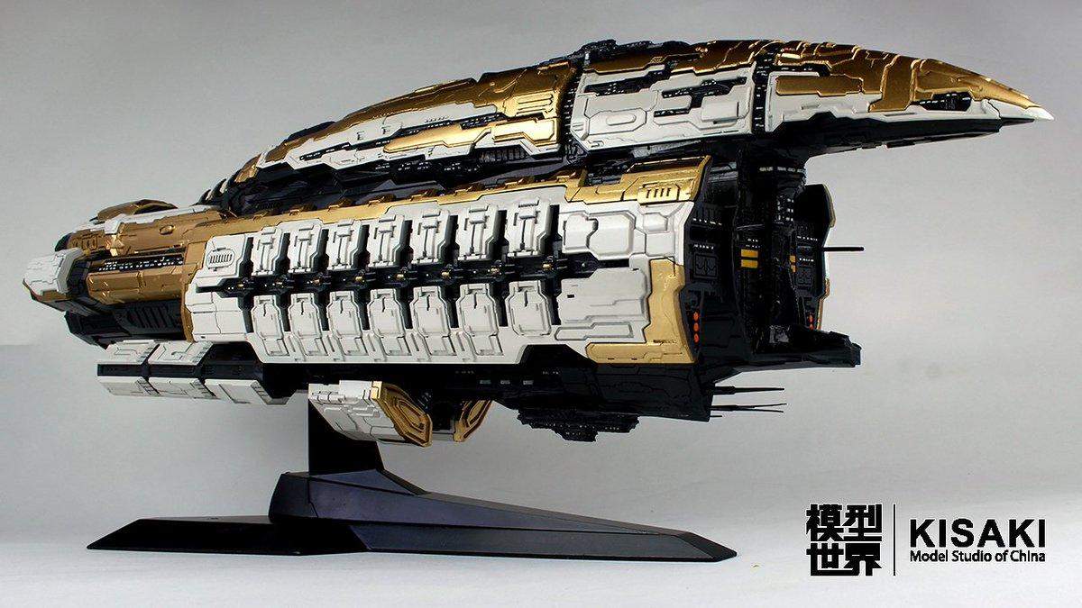 kisaki studio on twitter the abaddon ship model ccp guard