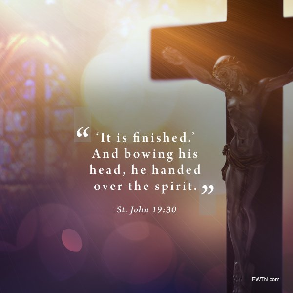 For #God so loved the world, he gave his only son... #EWTN #Catholic #HolyWeek #GoodFriday https://t.co/7RF0nb8mrD