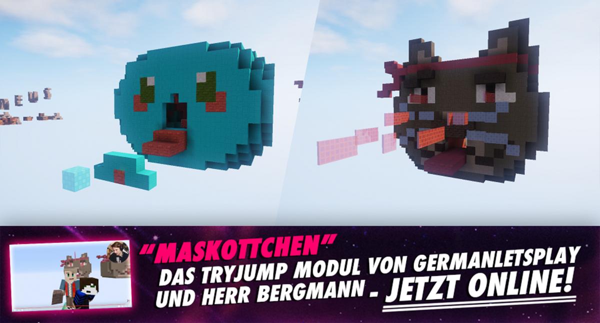 Tim Bergmann On Twitter Das TryJump Modul Das GermanLetsPlay Und - Minecraft tryjump spielen