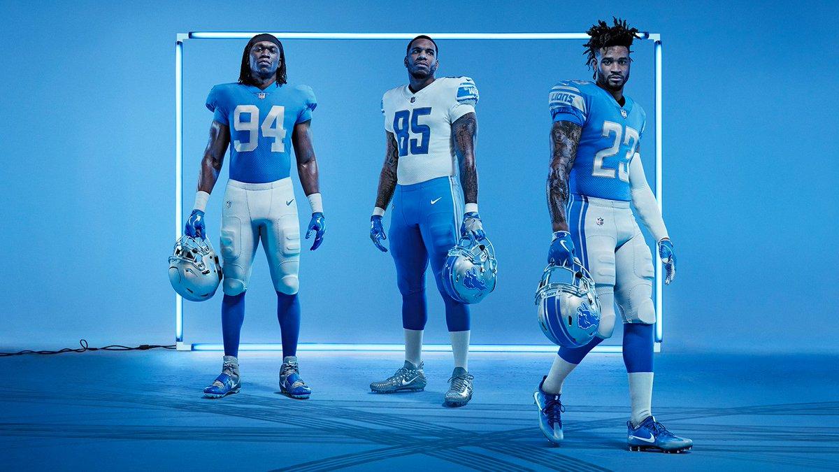 8e3865040 fresh off the block introducing the new nfl detroit lions nike vapor  untouchable uniforms