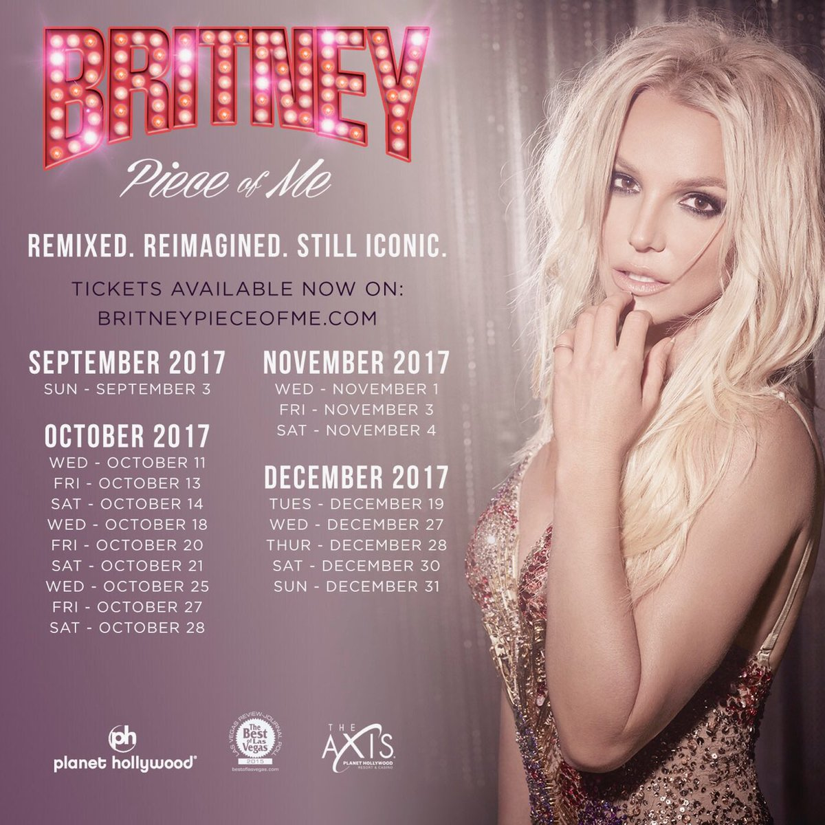 Britney spears on twitter lets make the last shows count vegas britney spears on twitter lets make the last shows count vegas tickets to the final pieceofme dates are now on sale httpst1vye3atwop kristyandbryce Choice Image