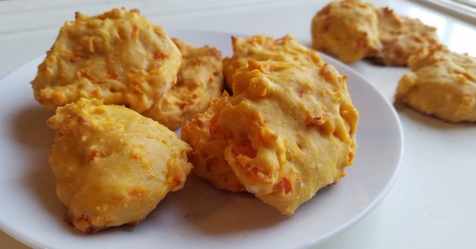 Pet Cinnamon Sweet Potato Cookies