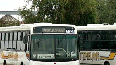 Thumbnail for Bus strike over