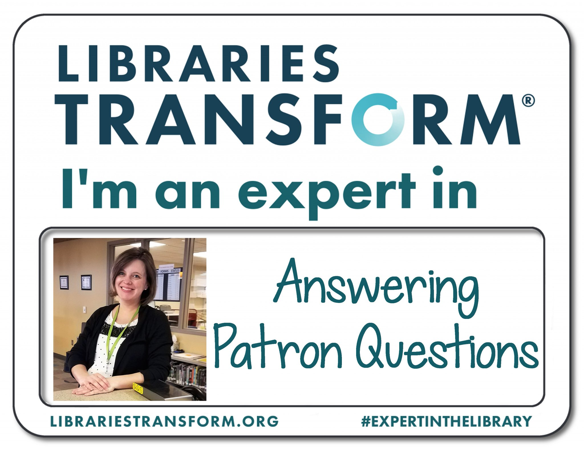 Celebrate #NationalLibraryWeek with us! Meet Sarah, an #ExpertInTheLibrary at KPL. https://t.co/Tg3Kzig00g