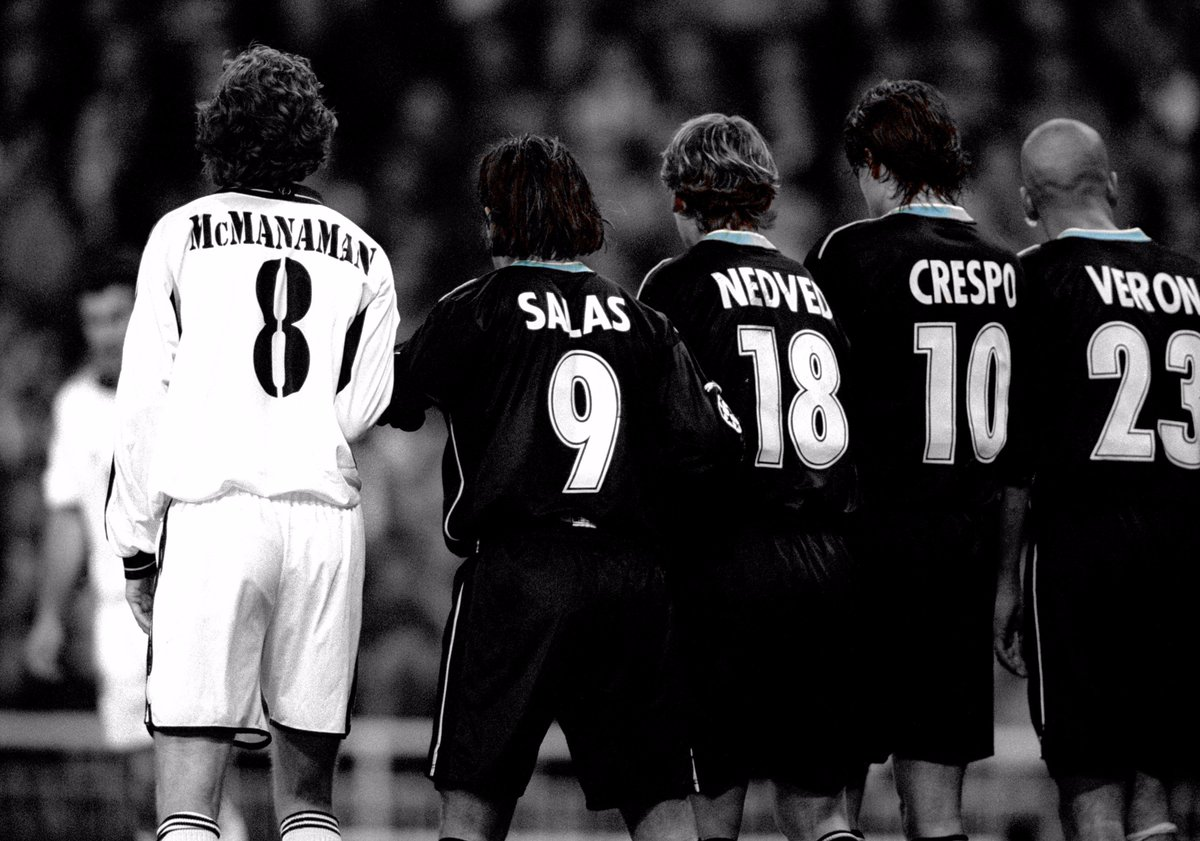 The talent in that Lazio wall 🙌  #UCL #FlashbackFriday https://t.co/5z...