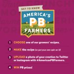 Time is running out! Upload your #AmericasPBFarmers recipe pics by midnight tonight for a chance at prizes.  https://t.co/uFqLWSWtqy
