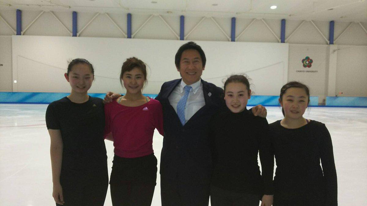 中京大学を視察させていただきました。高橋学部長は日本水泳選手権のため不在でしたが、ご案内いただき村上佳菜子選手にもお会いできました。#フィギュアスケート #村上佳菜子 #figureskate #kanakomurakami https://t.co/qCA4uUQnNa