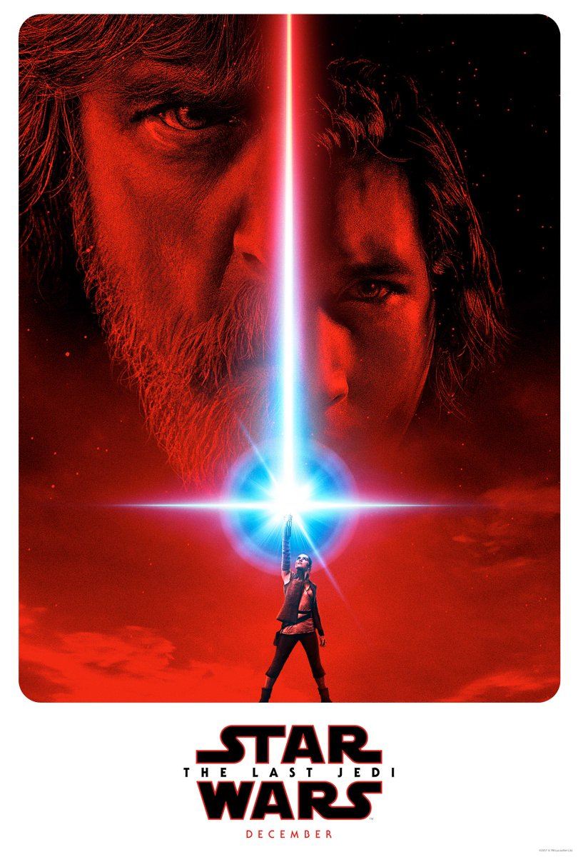 #TheLastJedi poster has been revealed. #SWCO