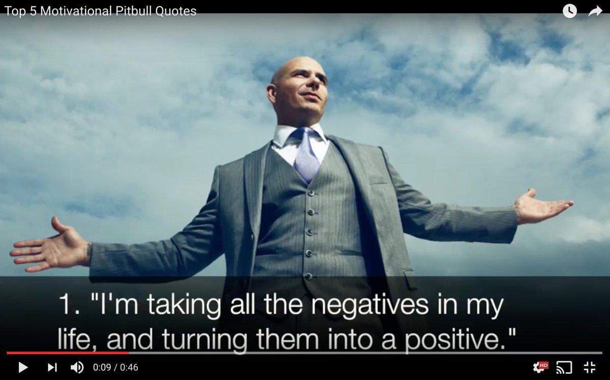 Doug Dvorak On Twitter Top Motivational Quotes By Pitbull