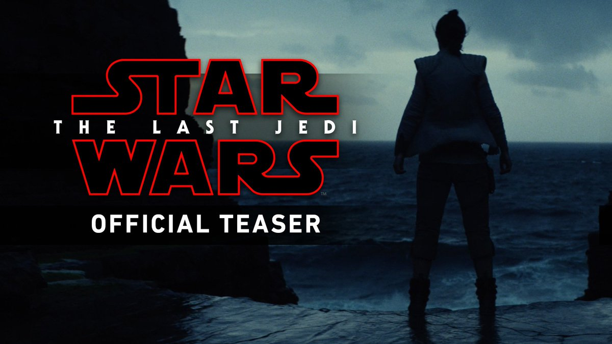Star Wars: #TheLastJedi. Arriving in your galaxy December 15. https://t.co/txUht2OtO8