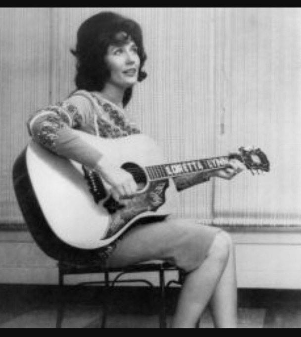 "Song of the day.."" Don\t Come Home A-Drinking\"" by Loretta Lynn Happy Birthday to you you legend!!"
