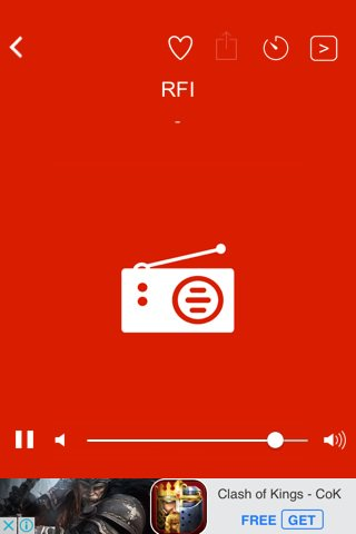 I&#39;m listening #RFI on Radio AIR cafe de sport  Big up mr Remi n co....  https://www. facebook.com/Radio-AIR-8016 79416555492/ &nbsp; … <br>http://pic.twitter.com/m44LuSXJ3a