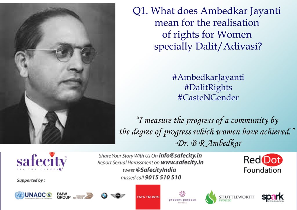 Dear friends, this is @DalitRights please send in your responses & thoughts on the below question #ambedkarjayanti https://t.co/CEbnx4J3QP