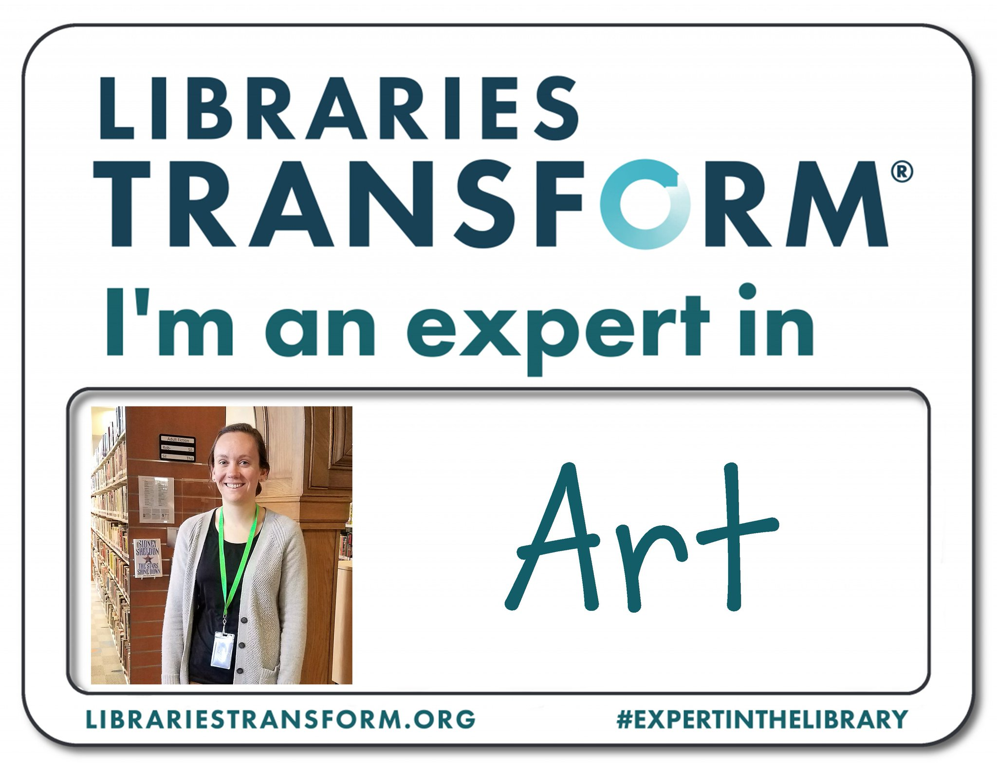 Celebrate #NationalLibraryWeek with us! Meet Amanda, an #ExpertInTheLibrary at KPL. https://t.co/JJKJi9WCD0