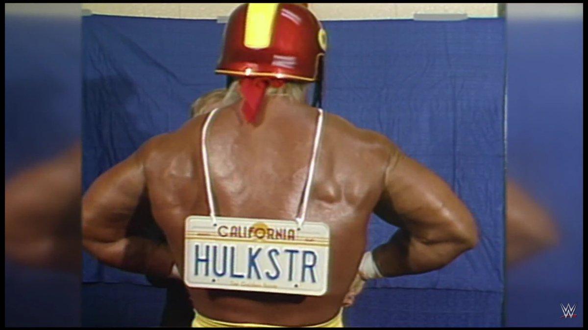 acheter en ligne bb645 04e4a time Hulk Hogan wore Trojan helmet California license plate ...