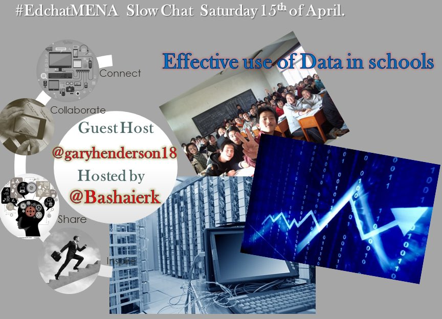 Join #edchatMENA this Sat with co-hosted by the awesome @garyhenderson18 #asiaed #edchat #nt2t #bigdata #data https://t.co/uxU8MmMaLo