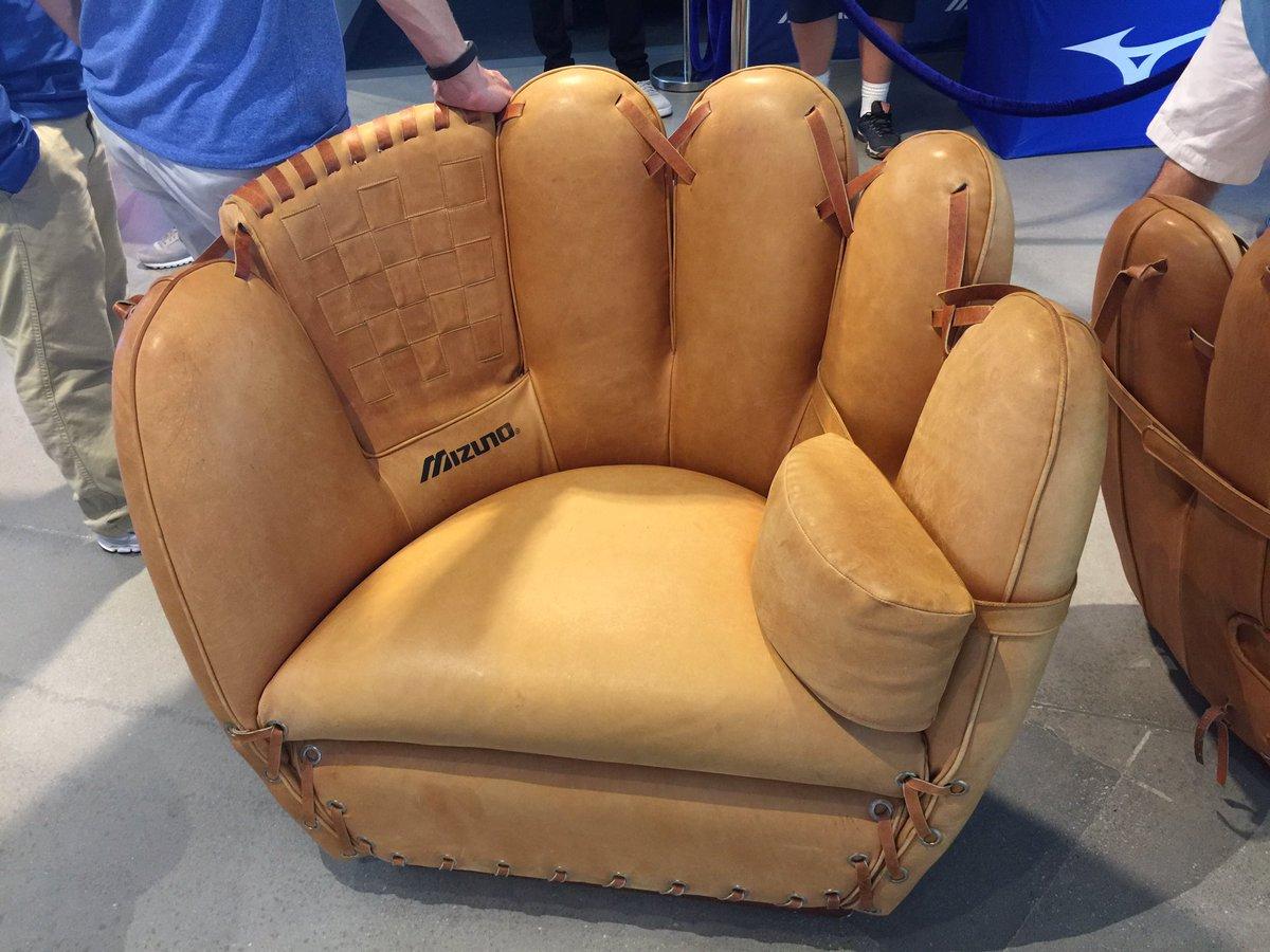 darren rovell on twitter mizuno is now selling glove chairs  - darren rovell on twitter mizuno is now selling glove chairs () andbig gloves () httpstcompytfuuyw