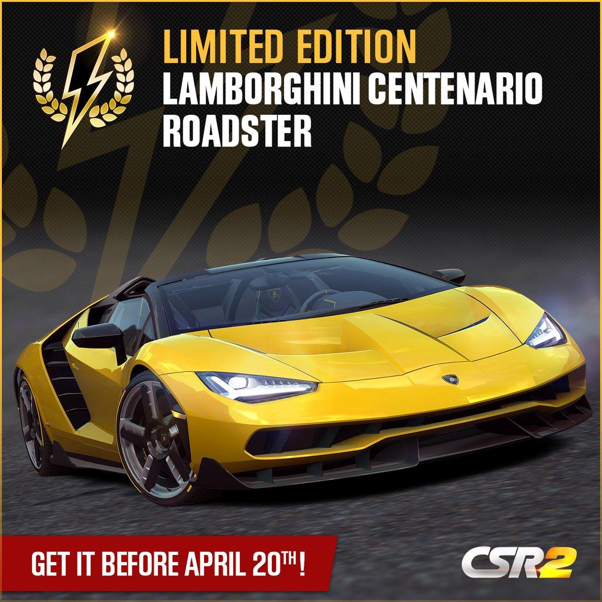 Csr Racing On Twitter Ios Exclusive Get Your Lamborghini