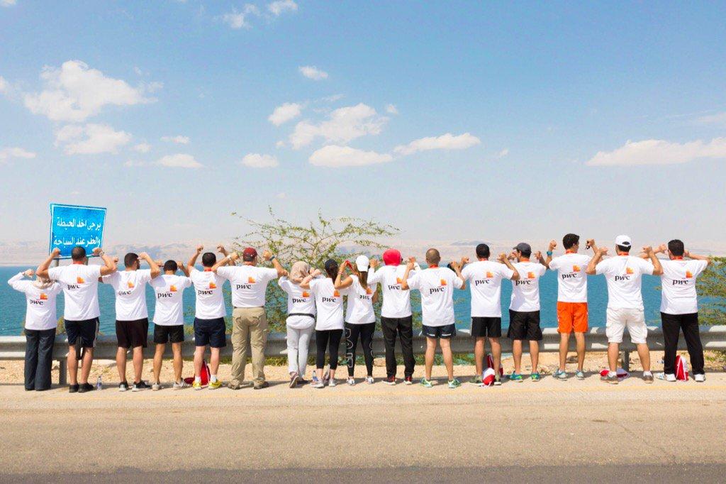 Participating at the #ultramarathon #DeadSea #Jordan @PwC_Middle_East<br>http://pic.twitter.com/vfVRV2120I