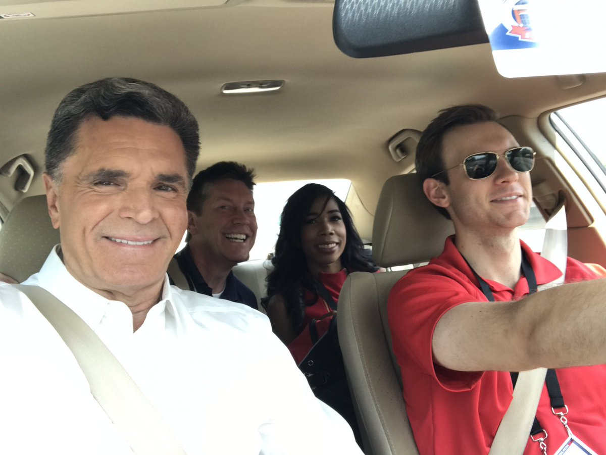 Carpooling to @SunTrustPark in a Honda Civic. Live team coverage of the @Braves home opener on #11Alive news at 5. #braves