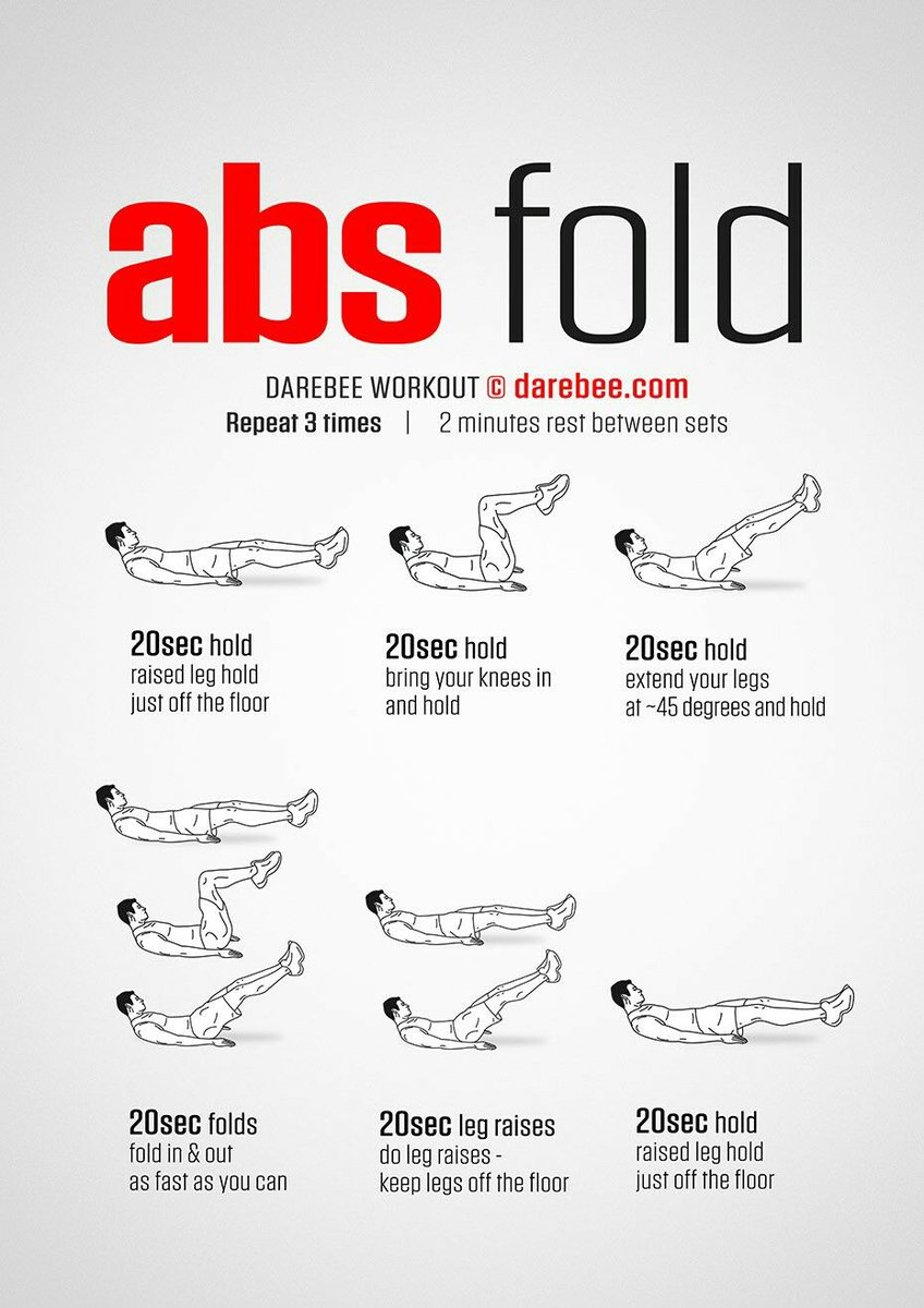 DAREBEE On Twitter NEW Abs Fold Workout Tco 1GikKNGo6w Darebee Fitness