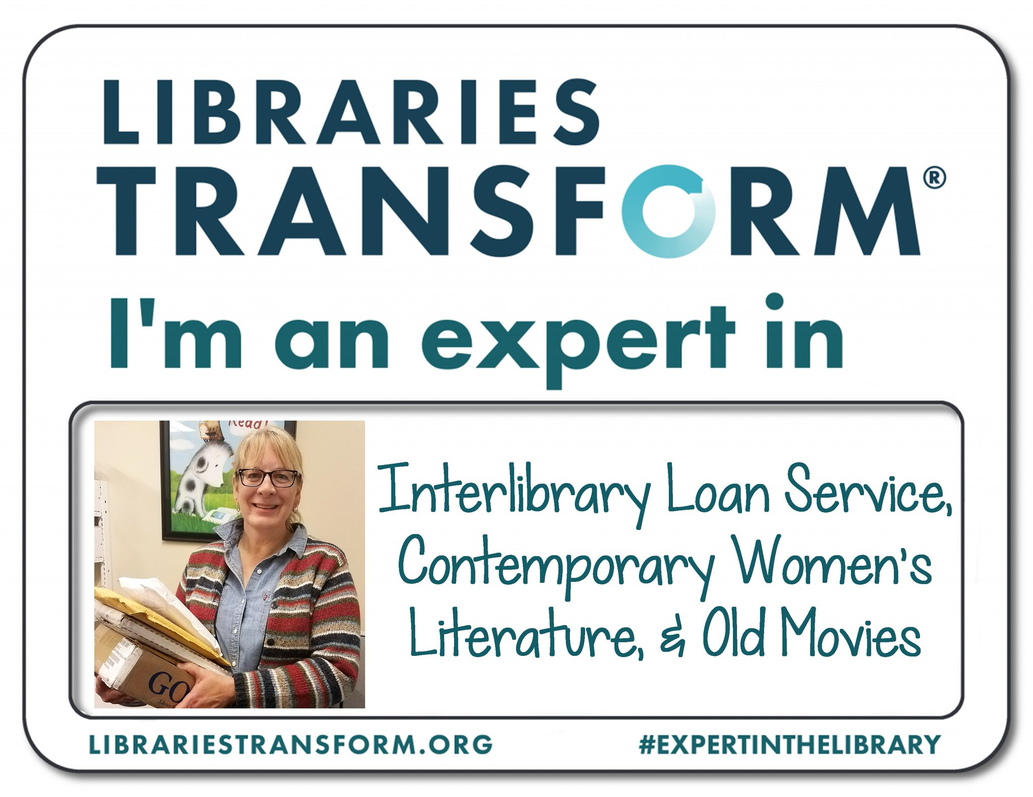 Celebrate #NationalLibraryWeek with us! Meet Jill, an #ExpertInTheLibrary at KPL. https://t.co/bppphOXeHw