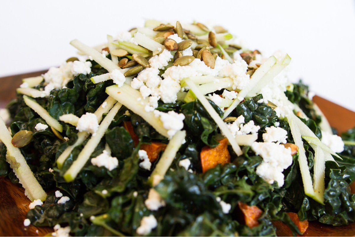 Getting ready for swimsuit season? Eat healthy at #SodaPops! Harvest Kale #SpicedYams #goatcheese #pepitas #vegetarian #healthyfood<br>http://pic.twitter.com/wBG10hU3md