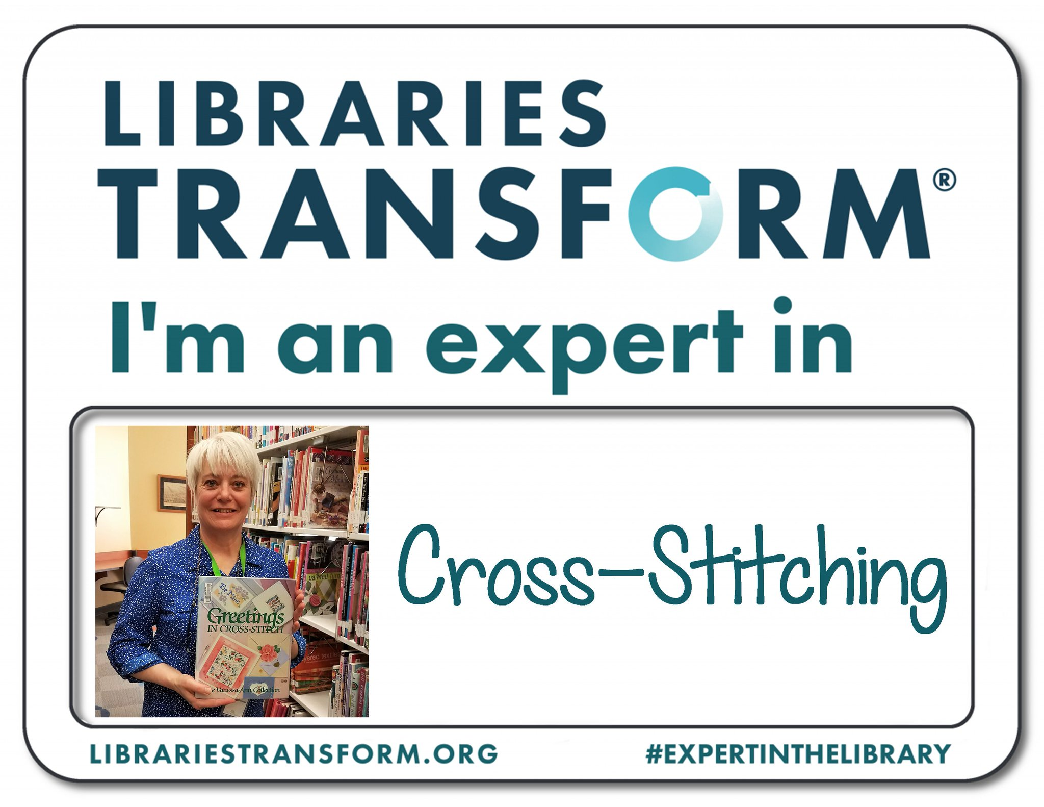 Celebrate #NationalLibraryWeek with us! Meet Kathy, an #ExpertInTheLibrary at KPL. https://t.co/piYnNu3wLS