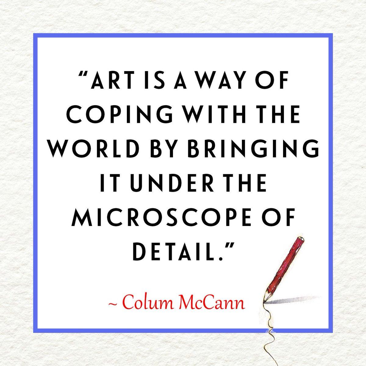 Random House On Twitter Why Do Authors Write Read Colum Mccanns