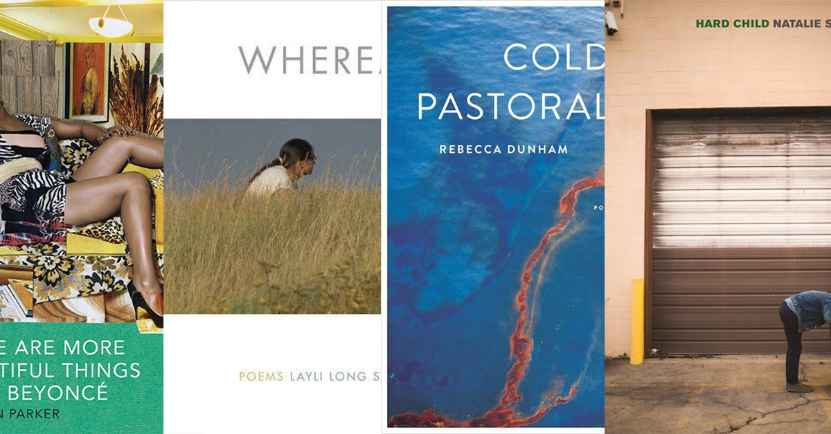 Four brilliant women. Four incredible new collections of poetry: https://t.co/LpqPqUjoMs https://t.co/FVHAfGW5U1