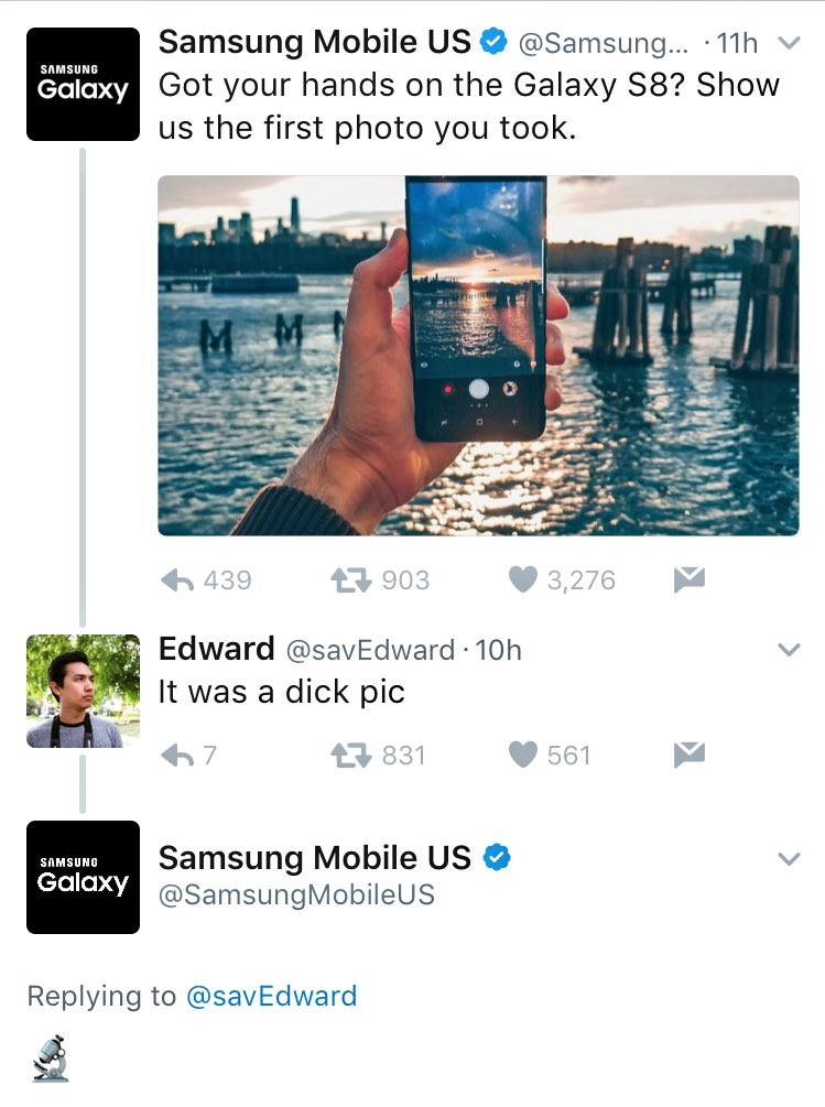 Wow, this is the worst Samsung has burnt somebody since the Galaxy S7. 🔥