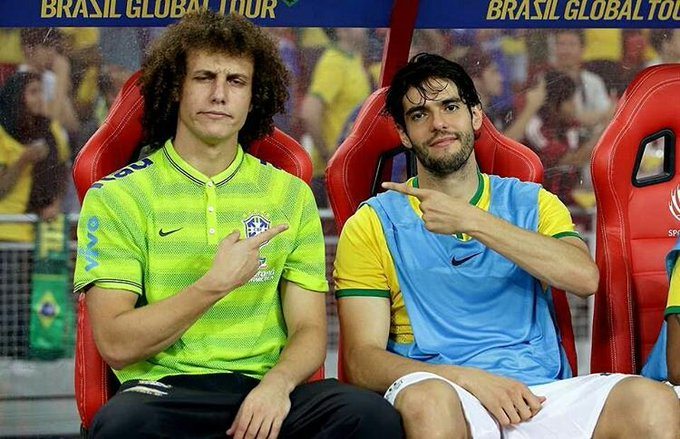 Happy Birthday Kaka & David Luiz