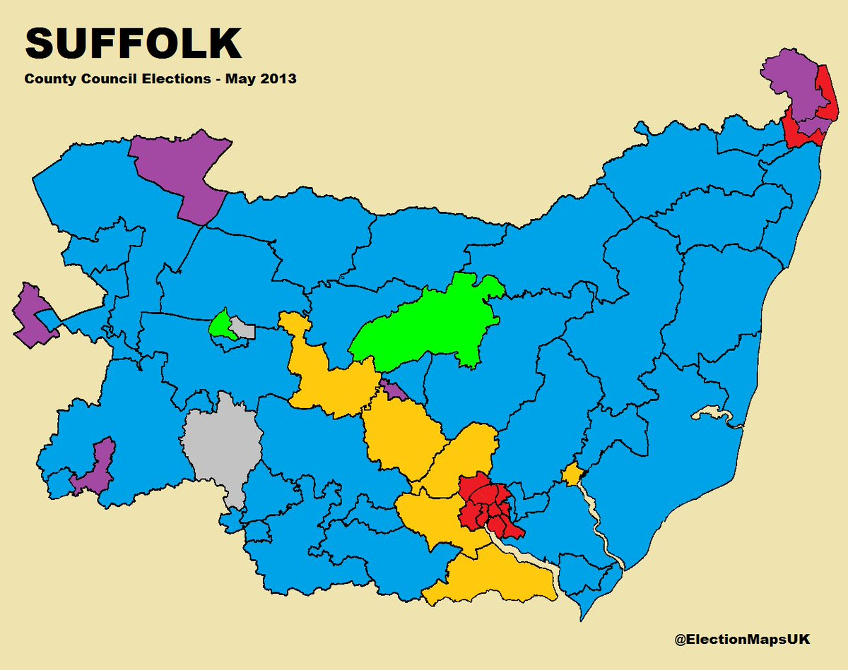 election maps uk on twitter local elections 2017 last time round suffolk may 2013 localelections2017 suffolk ipswich lowestoft felixstowe
