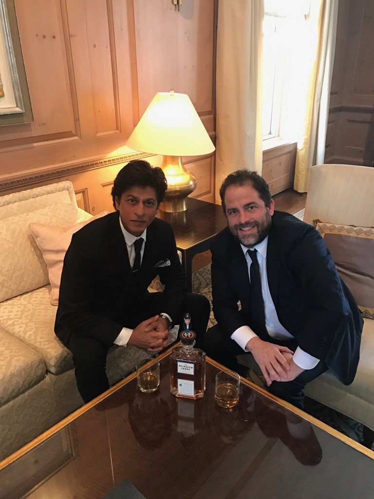 #TheHilhavenLodge #whiskey is going #global! Even #ShahRukhKhan @iamsrk has tasted it! https://t.co/W7MT8aurSr