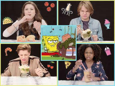 Nickelodeon On Twitter Spongebob Seaweed Sundaes And Spaghetti Tacos See How Your Favorite Nick Stars React To These Wacky Taste Tests Https T Co Bingwvoczb Https T Co 4ia22xopup