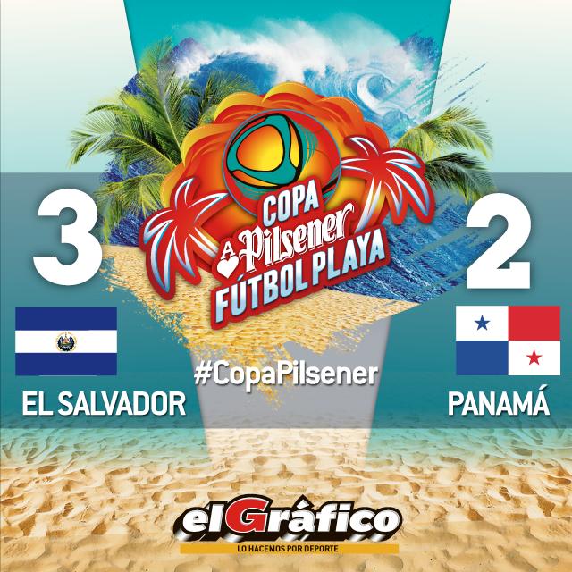 Copa Pilsener 2017: El Salvador 3 Panama 2. C9aPqN2XUAAOCuX