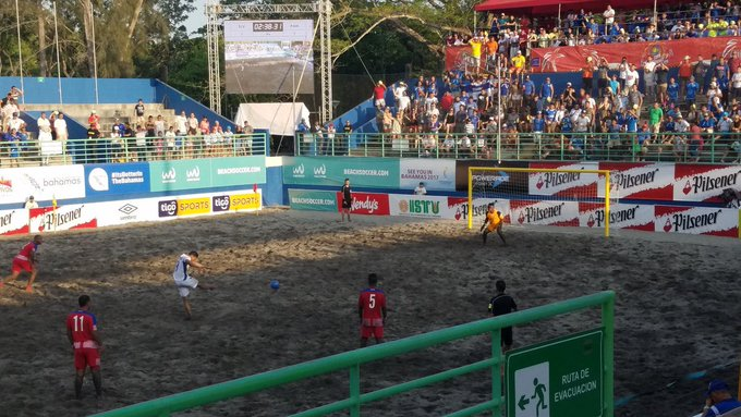 Copa Pilsener 2017: El Salvador 3 Panama 2. C9aT1GKXcAE2nws