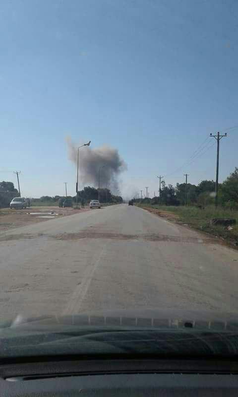 Libya- aftermath of LAF airstrike against MSCD in Fattaih area, south of Derna
