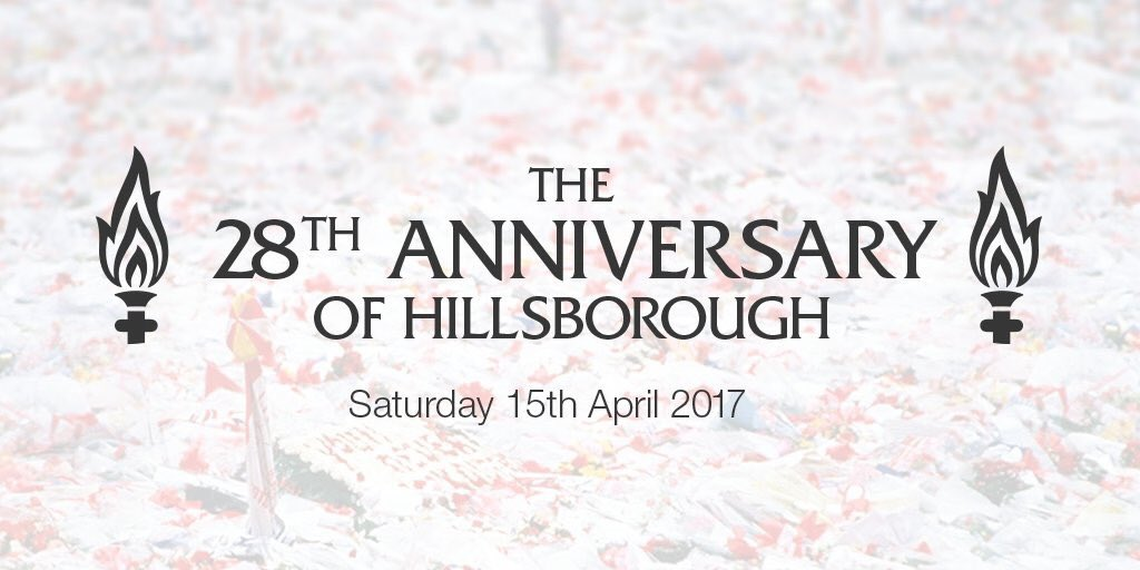 Hillsborough 28ans : You&#39;ll Never Walk Alone #Memory #Mimoria #MaiÙnCiNeScurderemu #15Avril #5Mai<br>http://pic.twitter.com/qQD3sxgn66