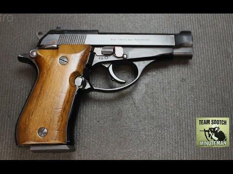 Beretta Pistol Model 84 manual