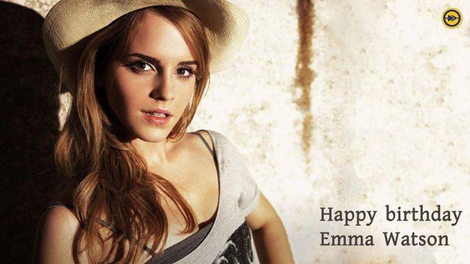 Happy birthday to Emma Watson!!!