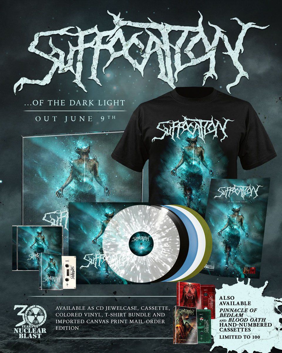Suffocation On Twitter New Album OfTheDarkLight Out June 9th