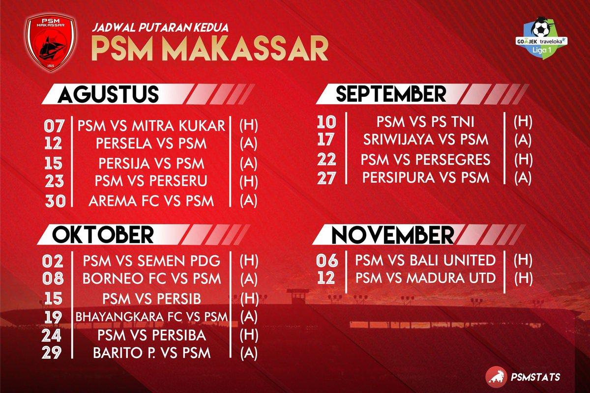 Psmstats On Twitter Jadwal Psm Makassar Liga Unu Siapkan Menyambut Musim Ewako Dpt Berubah