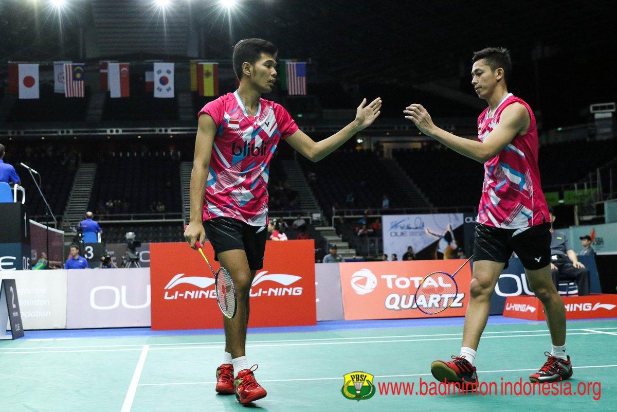 "BADMINTON INDONESIA on Twitter ""Fajar Alfian Muhammad Rian"
